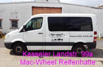 reifenhalle autovermietung mac wheel gmbh g ttingen sprinter flach kurz. Black Bedroom Furniture Sets. Home Design Ideas